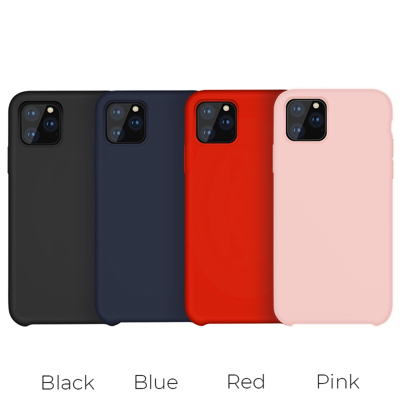 hoco iphone 5.8 6.5 pure series protective case colors