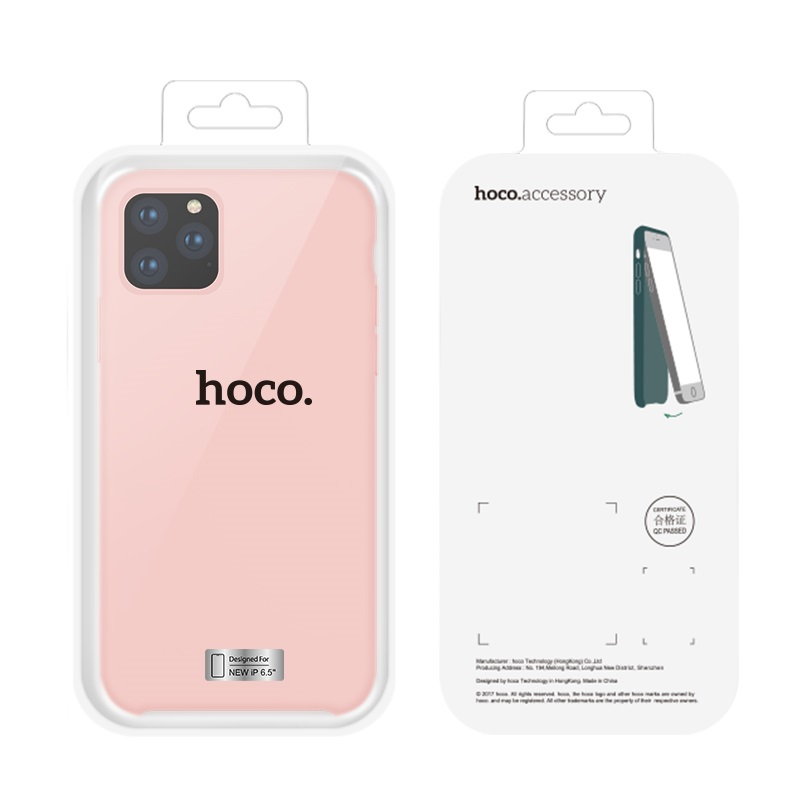 hoco iphone 5.8 6.5 pure series protective case front back packages