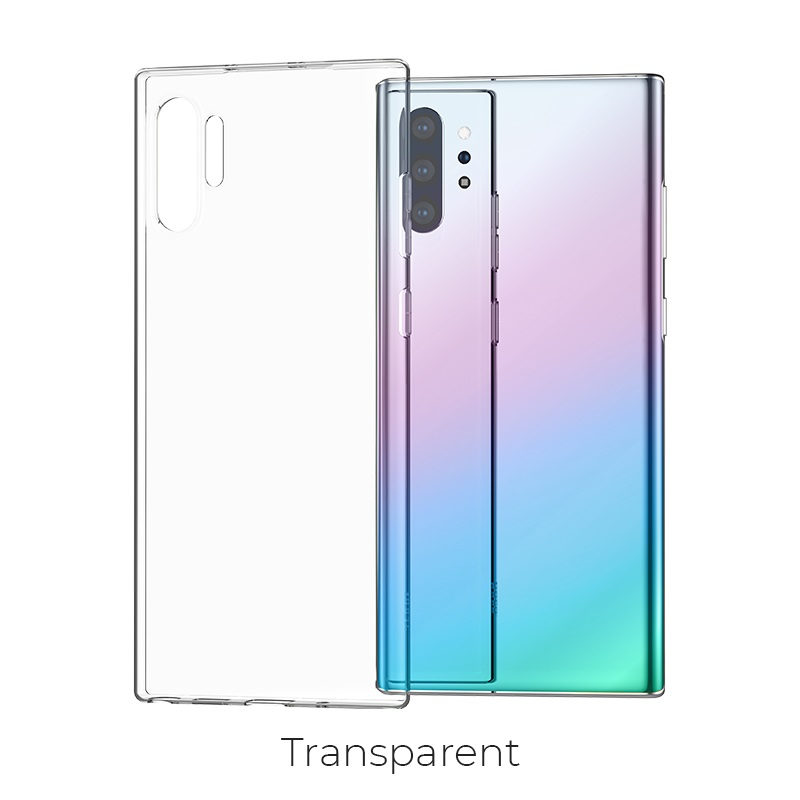 galaxy note 10plus light series transparent