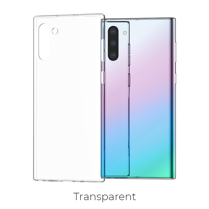 galaxy note 10 light series transparent