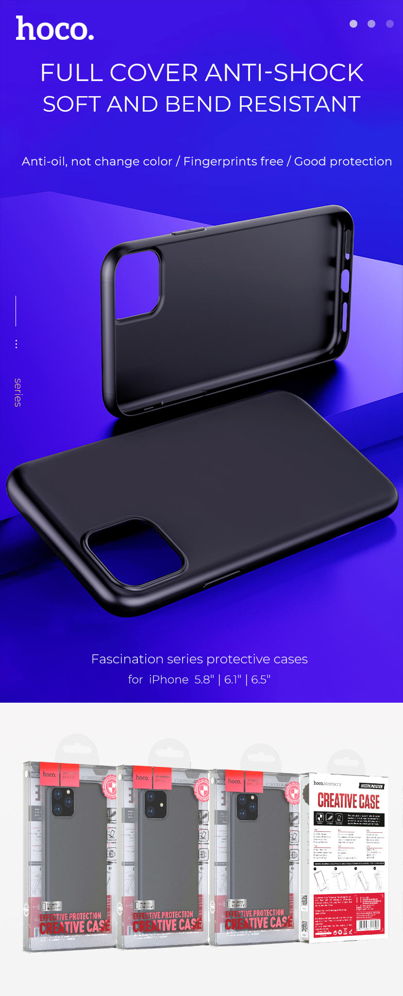 hoco news 2019 iphone case collection fascination en