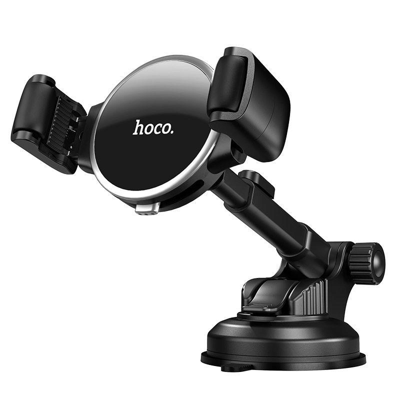 hoco selected s12 lite автомобильный держатель телефона для приборной панели спереди