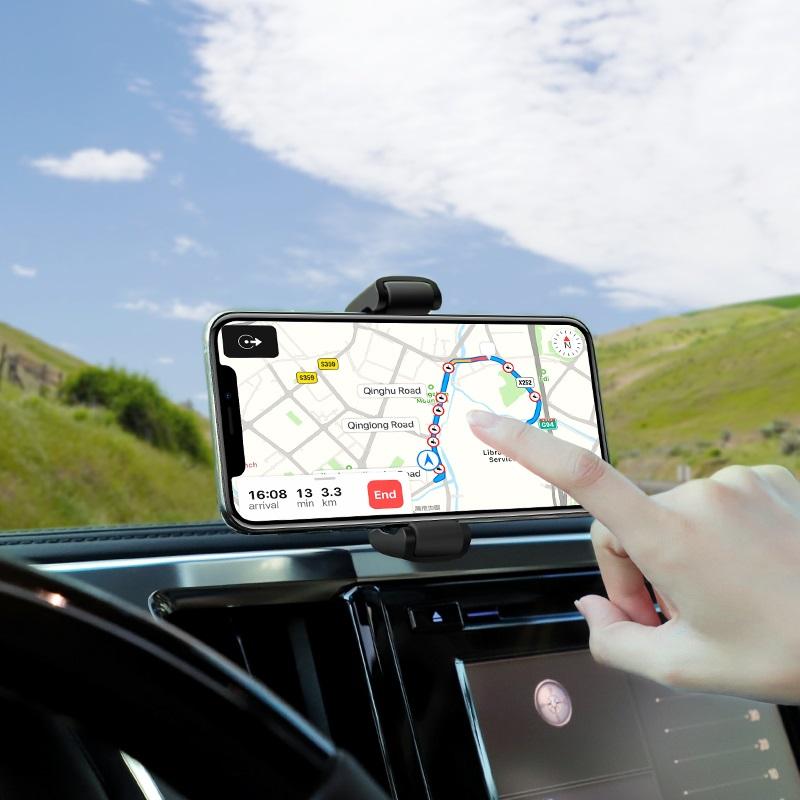 hoco selected s12 lite автомобильный держатель телефона для приборной панели навигатор
