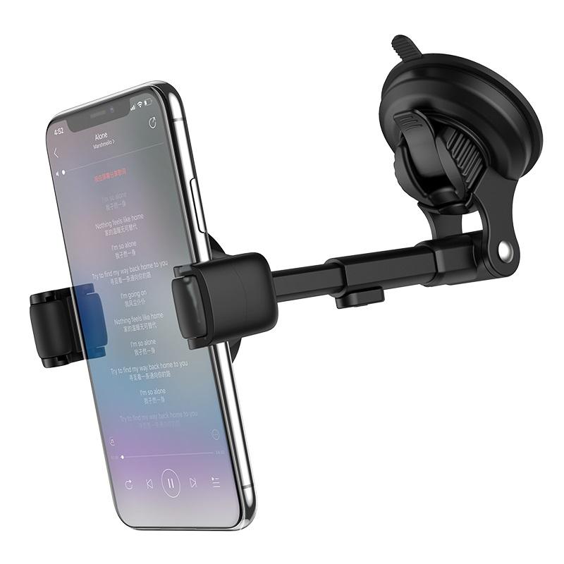 hoco selected s12 lite автомобильный держатель телефона для приборной панели