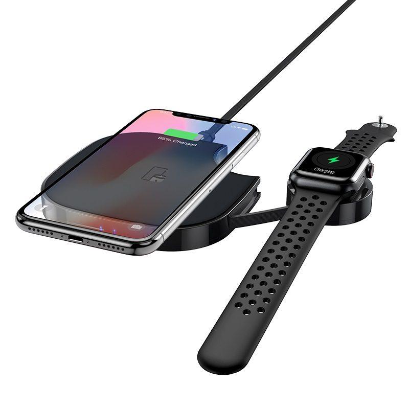 浩酷精选 s5 酷博二合一无线快充 手机手表