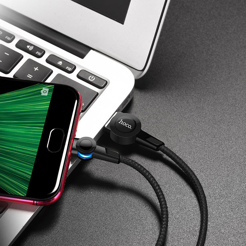 hoco selected s8 magnetic charging cable for micro usb interior