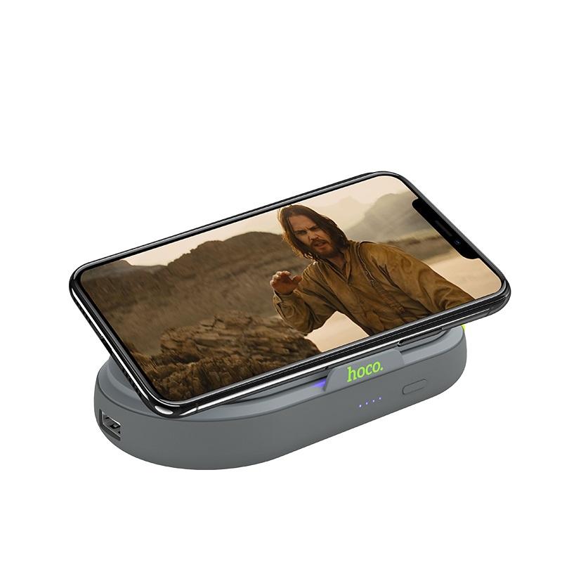 hoco selected s9 lucky многофункциональный портативный аккумулятор 5000mah подставка