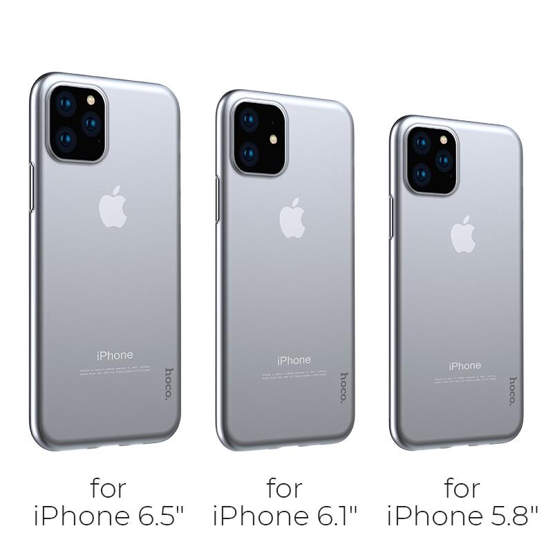 hoco thin series pp чехол для iphone 5.8 6.1 6.5 модели