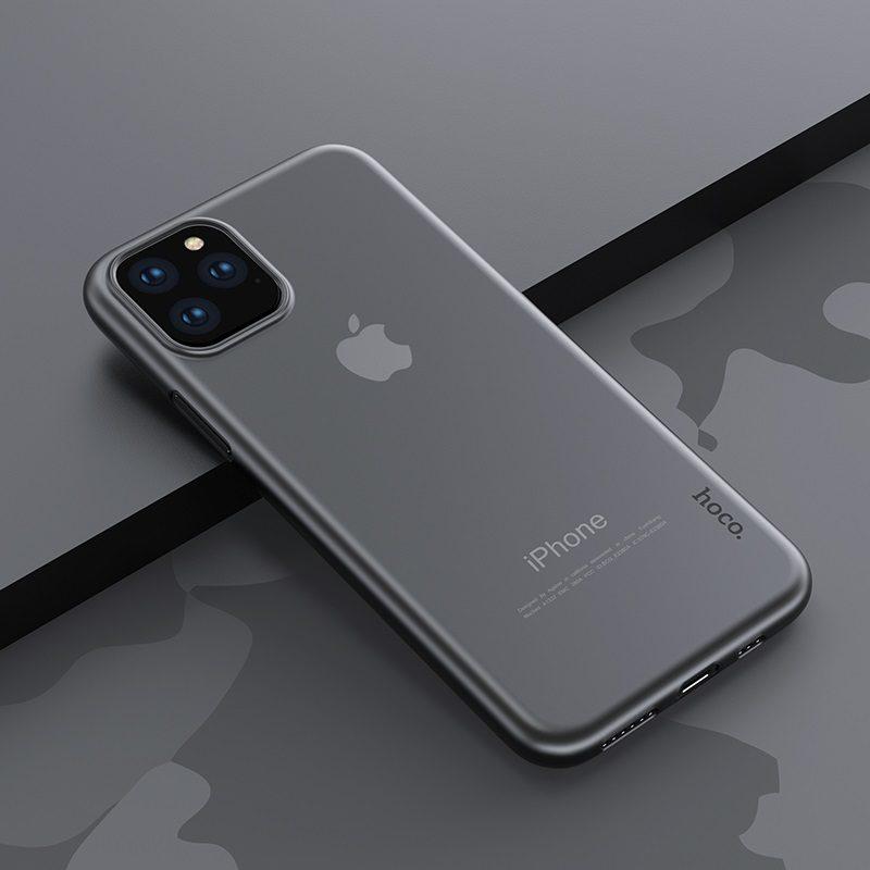 hoco thin series pp чехол для iphone 5.8 6.5 интерьер черный