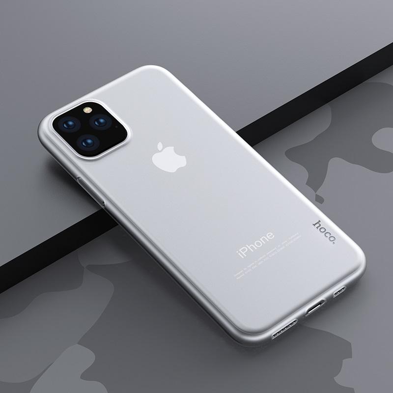 hoco thin series pp чехол для iphone 5.8 6.5 интерьер прозрачный