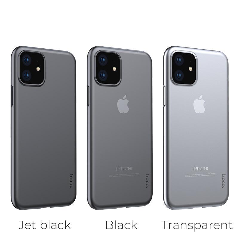 hoco thin series pp чехол для iphone 6.1 цвета
