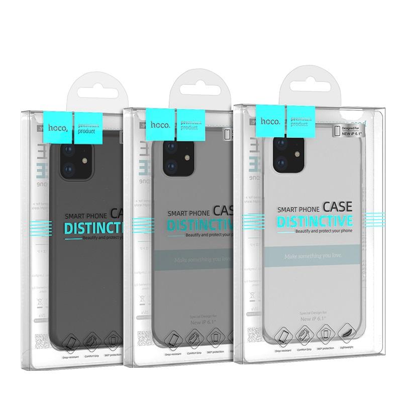 hoco thin series pp чехол для iphone 6.1 упаковка