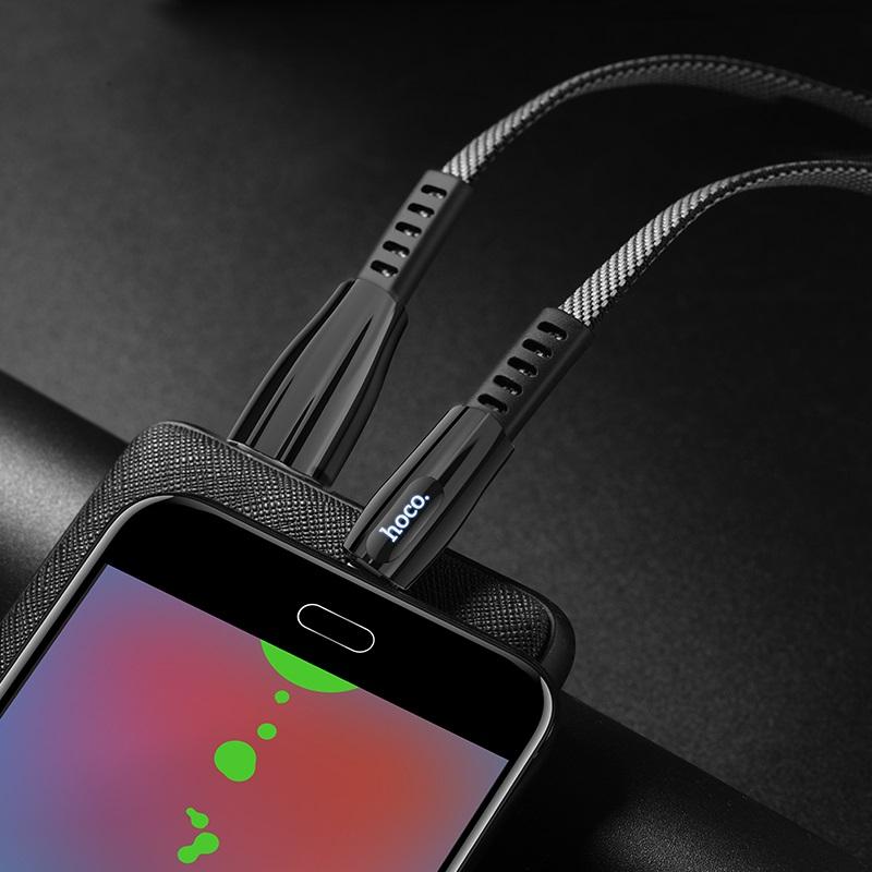 hoco u70 splendor зарядный дата кабель для micro usb интерьер