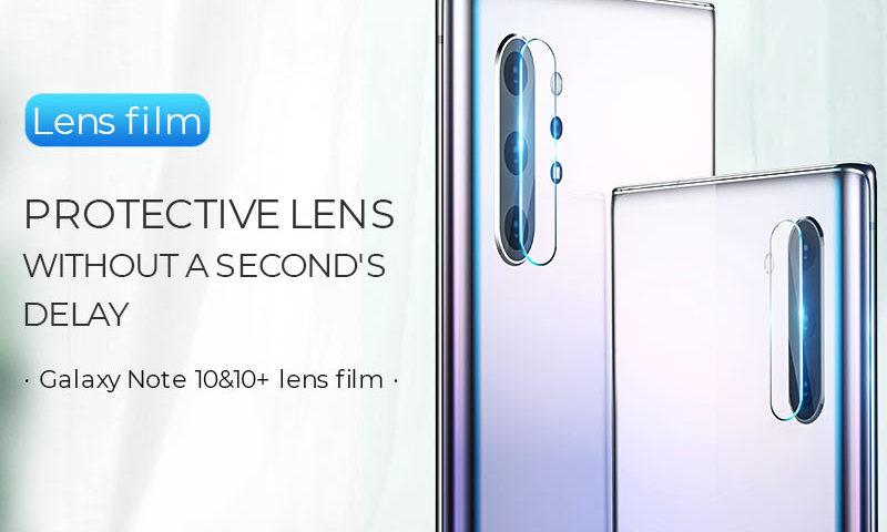 hoco v11 lens flexible tempered film for samsung galaxy note 10 10plus banner en