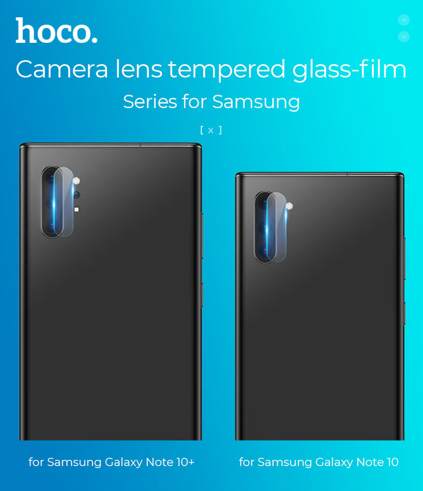 hoco v11 lens flexible tempered film for samsung galaxy note 10 10plus models en
