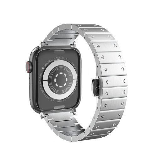 浩酷 wb07 宝格钢表带 apple watch 背面