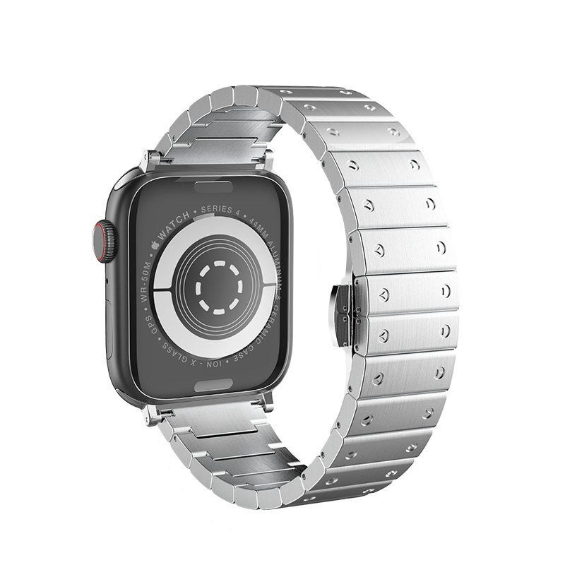 hoco wb07 precious steel strap for apple watch back