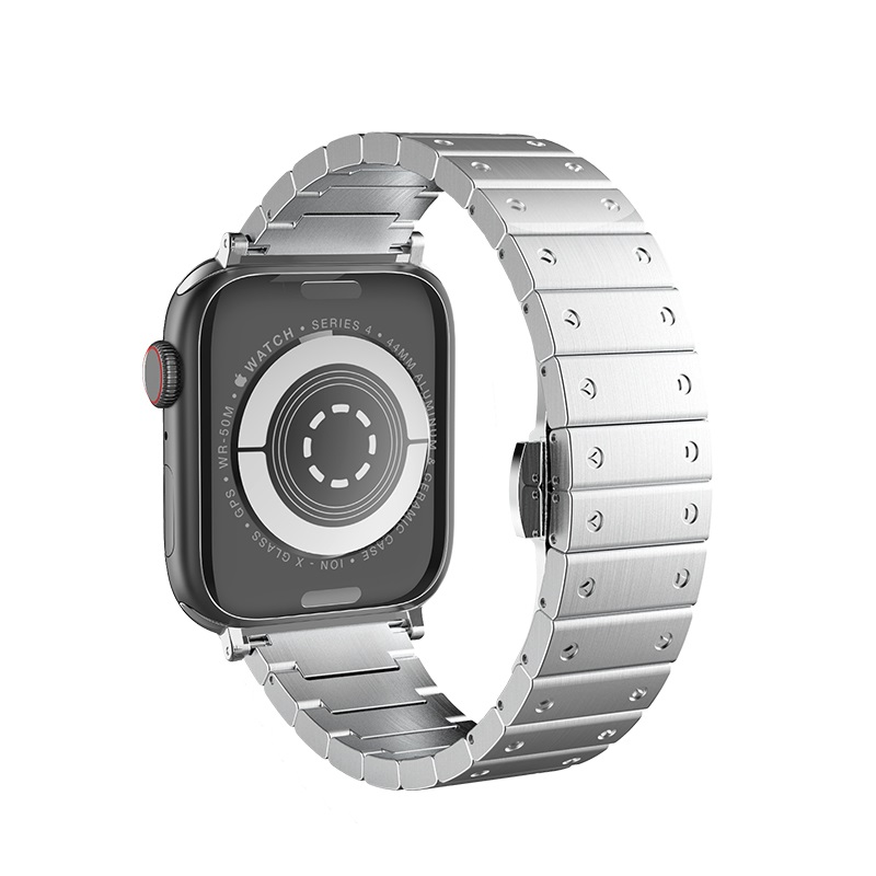 hoco wb07 precious steel strap for apple watch back
