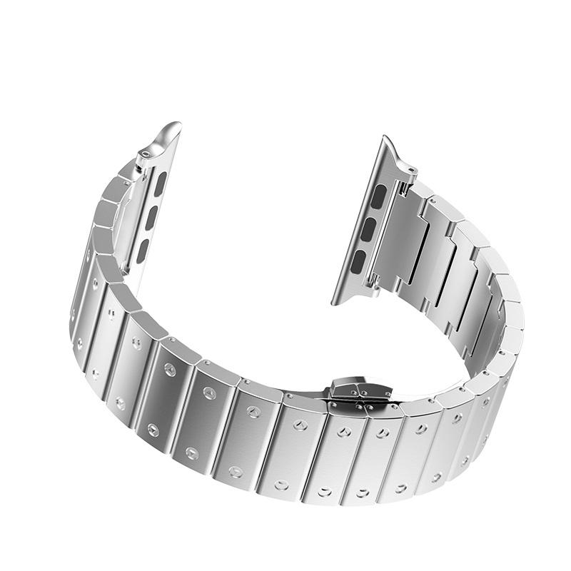 hoco wb07 precious браслет из нержавеющей стали для apple watch застежка