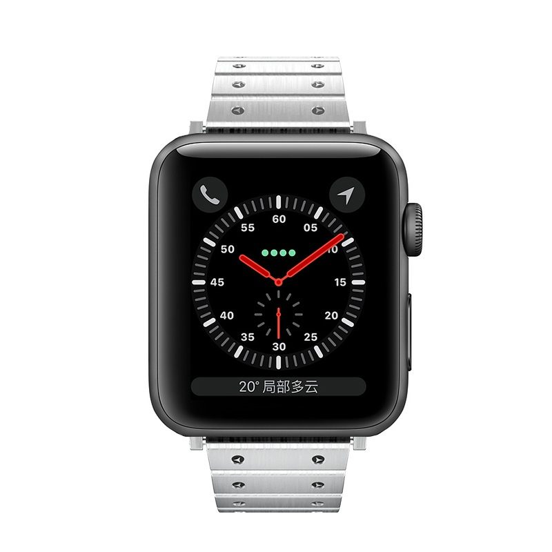 hoco wb07 precious steel strap for apple watch front