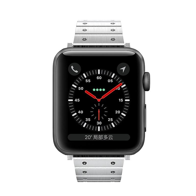 hoco wb07 precious браслет из нержавеющей стали для apple watch спереди