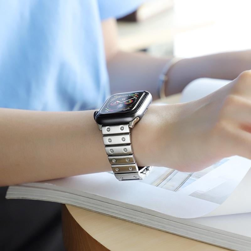 hoco wb07 precious браслет из нержавеющей стали для apple watch