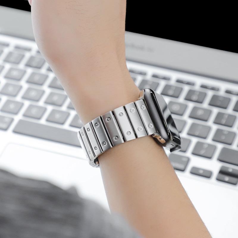 hoco wb07 precious браслет из нержавеющей стали для apple watch обзор