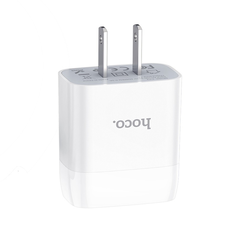 hoco c72 glorious single port charger us