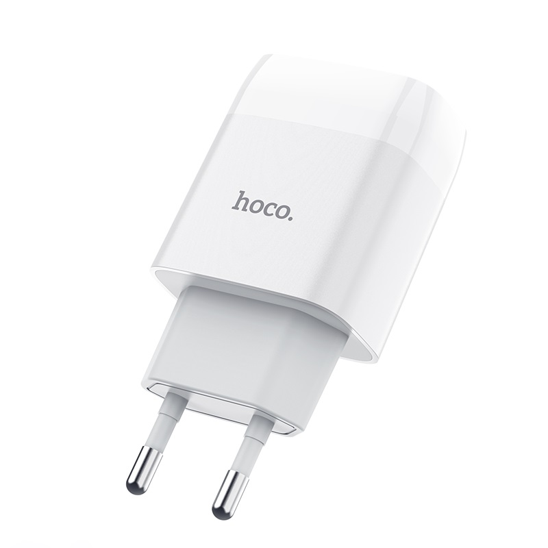 hoco c72a glorious single port charger eu front
