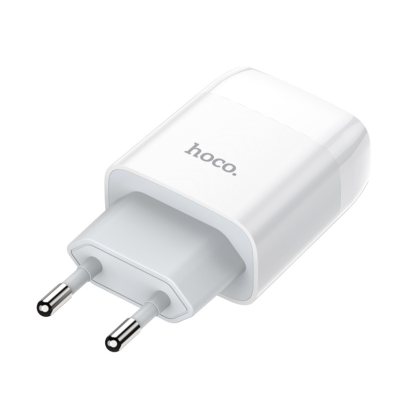 hoco c73a glorious dual port charger eu pins