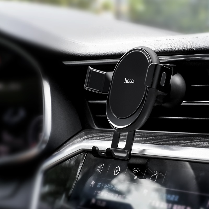 hoco ca56 metal armour air outlet gravity car holder interior