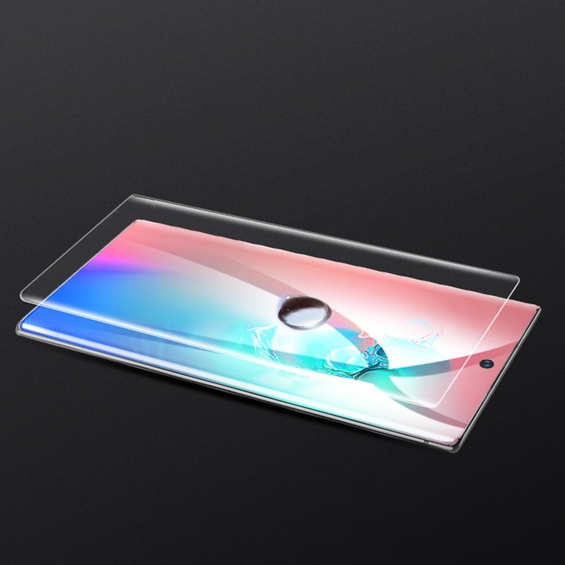 hoco quantum fast attach g3 hd film for samsung galaxy note10 10plus drops