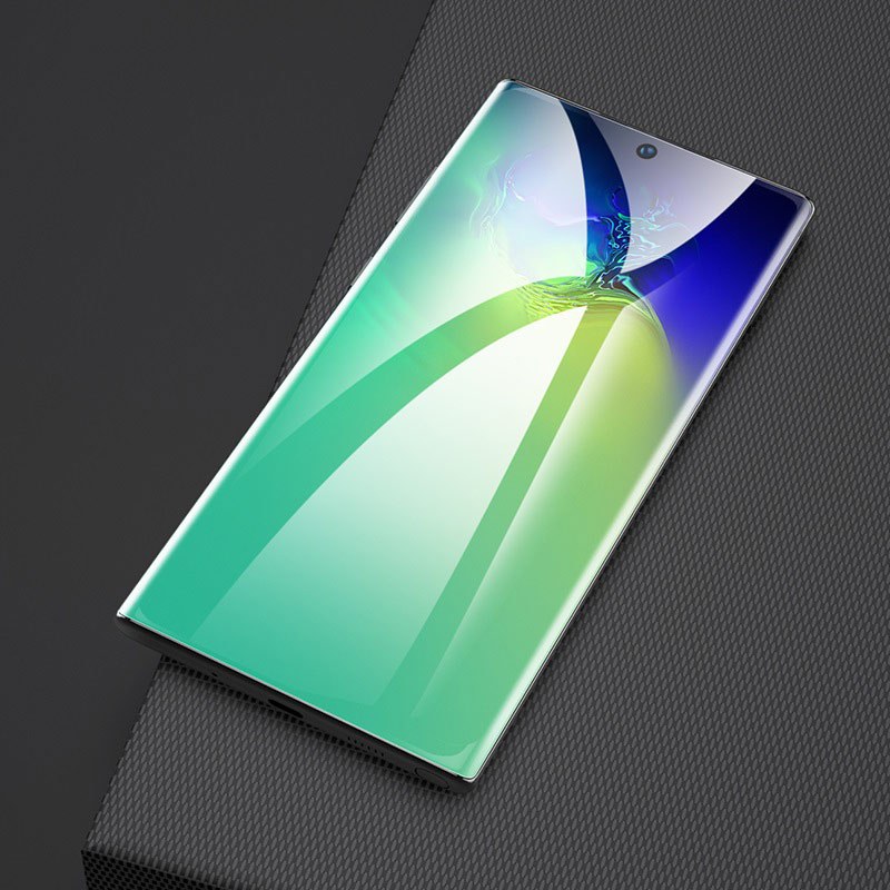 hoco quantum fast attach g3 hd film for samsung galaxy note10 10plus good fit