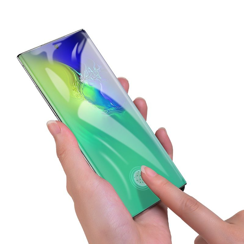 浩酷 量子速贴高清膜 g3 hd samsung galaxy note10 10plus 传感器