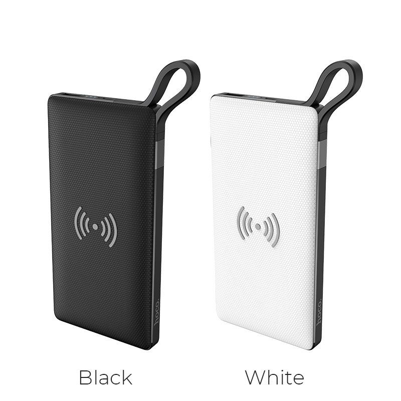 hoco selected s10 multi function wireless charger mobile power bank 10000mah colors