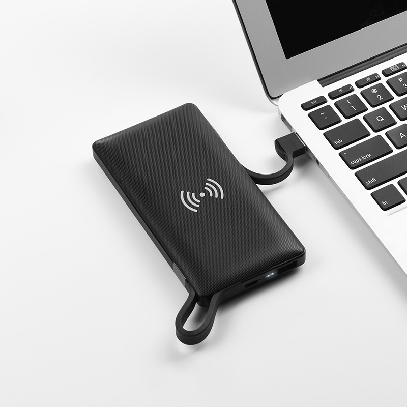 hoco selected s10 multi function wireless charger mobile power bank 10000mah notebook