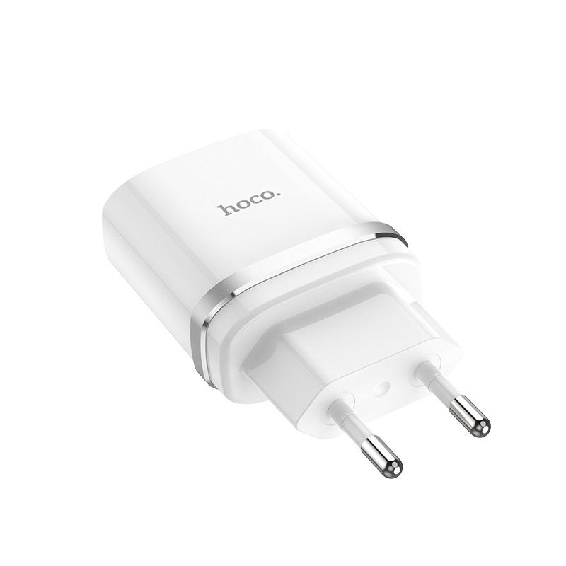hoco c12q smart qc30 wall charger eu plug