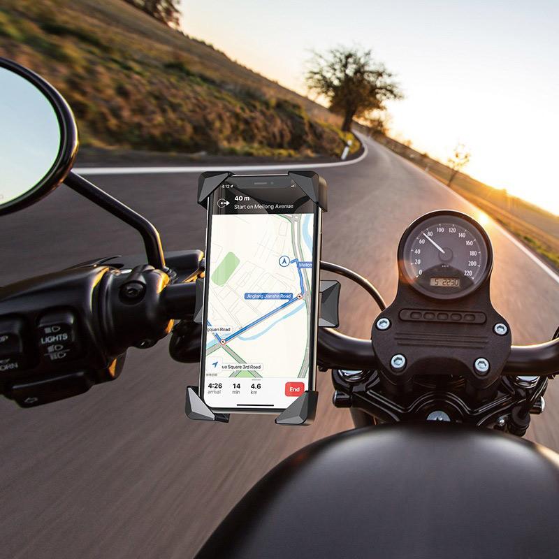 浩酷 ca58 轻骑一键式自行车摩托车通用支架 骑自
