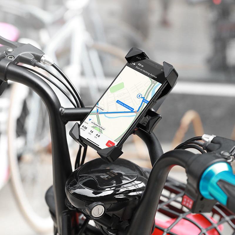 浩酷 ca58 轻骑一键式自行车摩托车通用支架 垂直