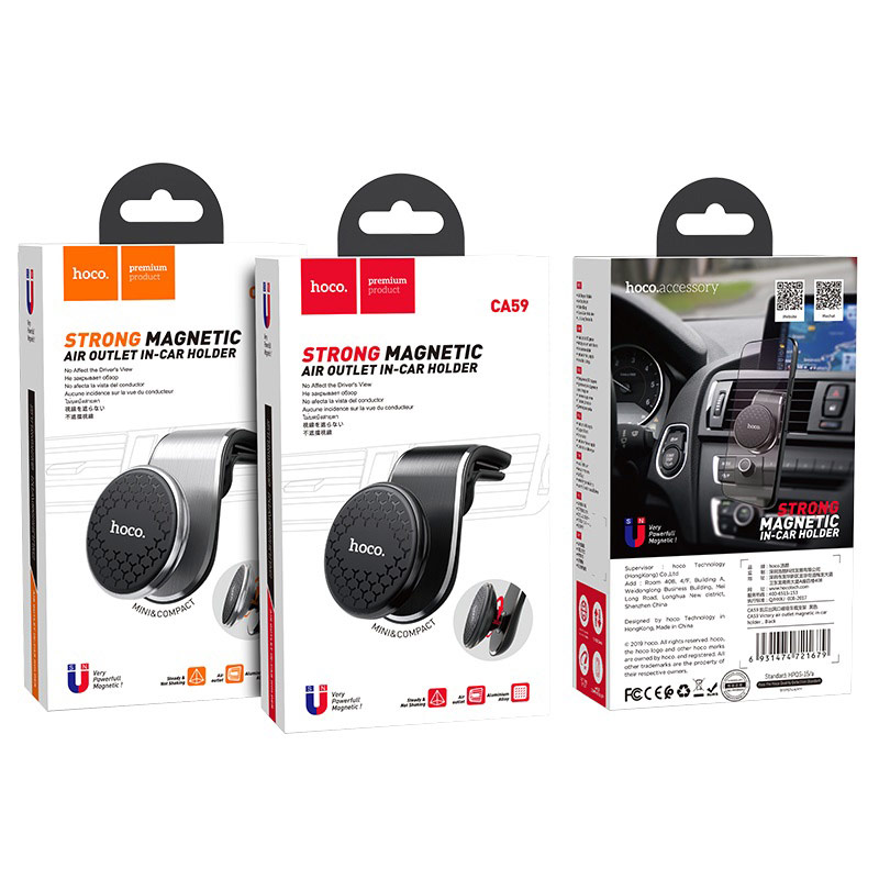 hoco ca59 victory air outlet magnetic in car holder packages