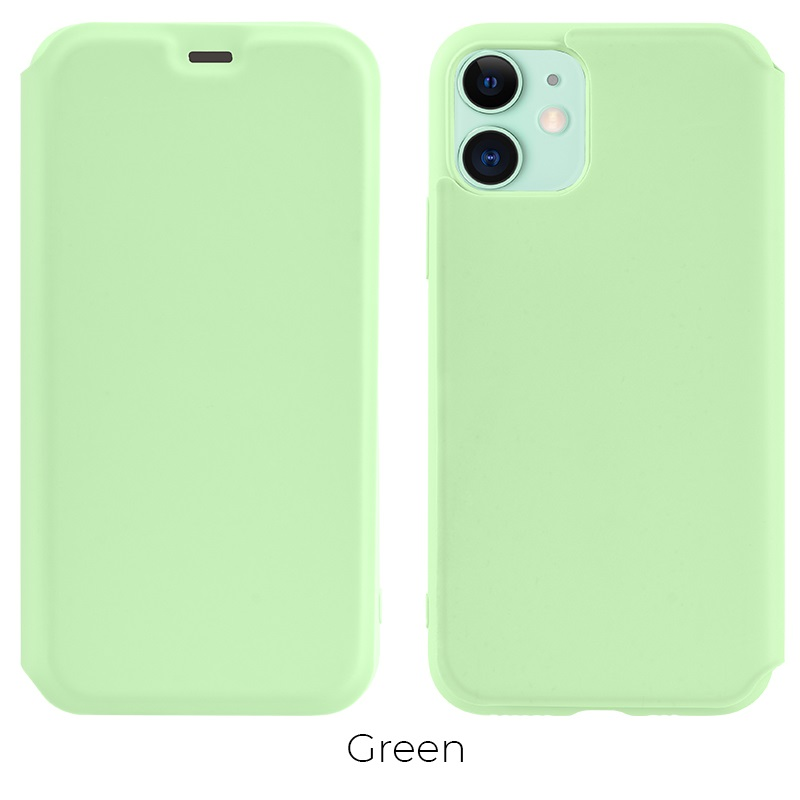 ip 11 colorful case green