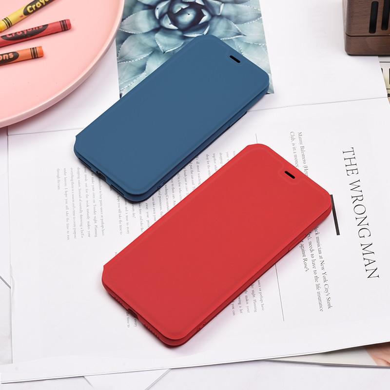 hoco colorful series защитный чехол из жидкого силикона для iphone x xs max интерьер синий красный