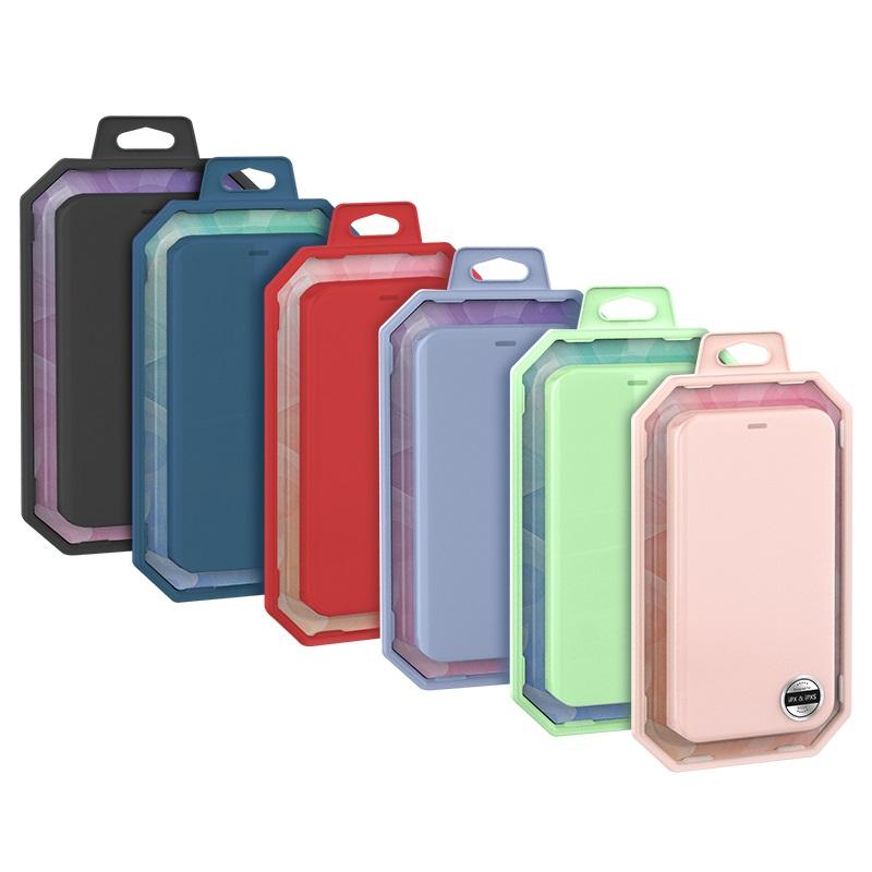 hoco colorful series защитный чехол из жидкого силикона для iphone x xs max упаковки