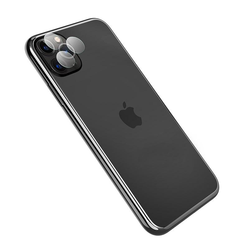 hoco iphone 11pro 11promax закаленная пленка для линзы v11 простая установка