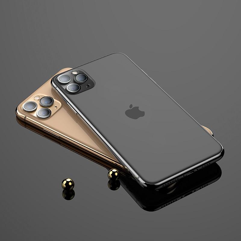 浩酷 iphone 11pro 11promax 镜头柔性钢化膜 v11 内部