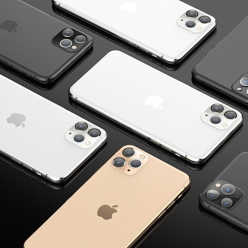 浩酷 iphone 11pro 11promax 镜头柔性钢化膜 v11 概观