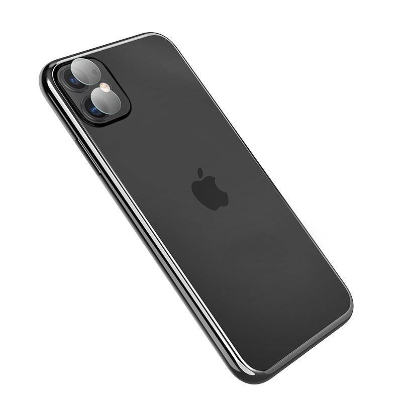 浩酷 iphone11镜头柔性钢化膜 v11 快速附着