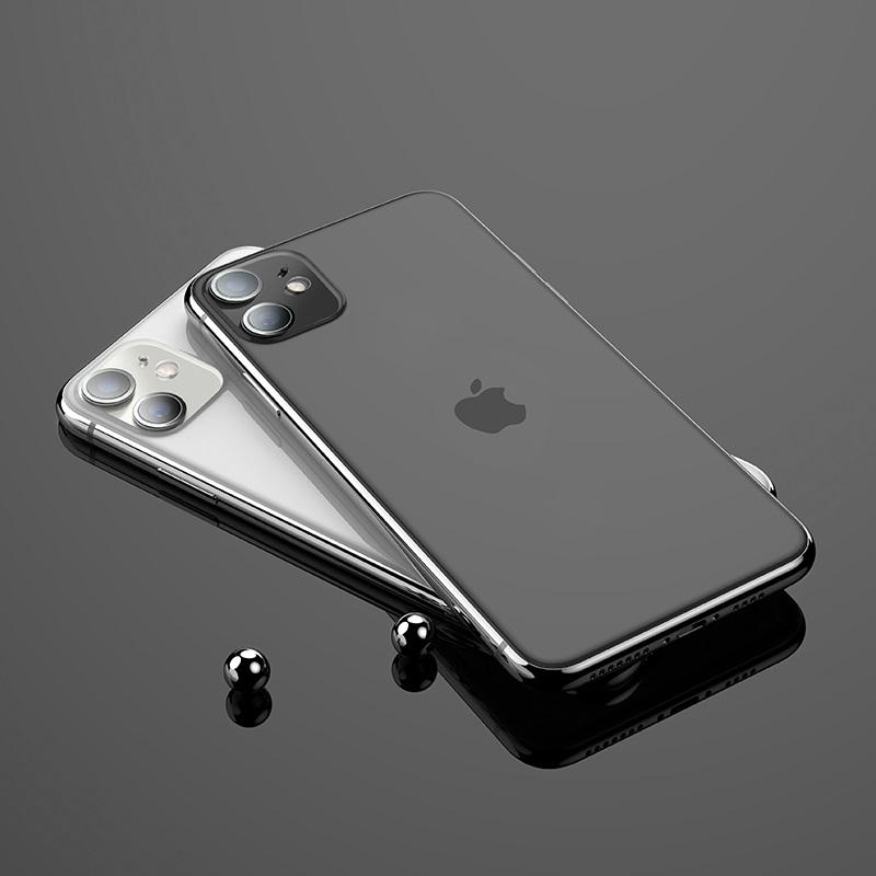 浩酷 iphone11镜头柔性钢化膜 v11 内部