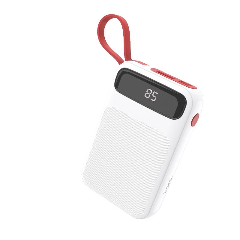 浩酷 j40 博能移动电源 10000mah 自带充电线 屏幕