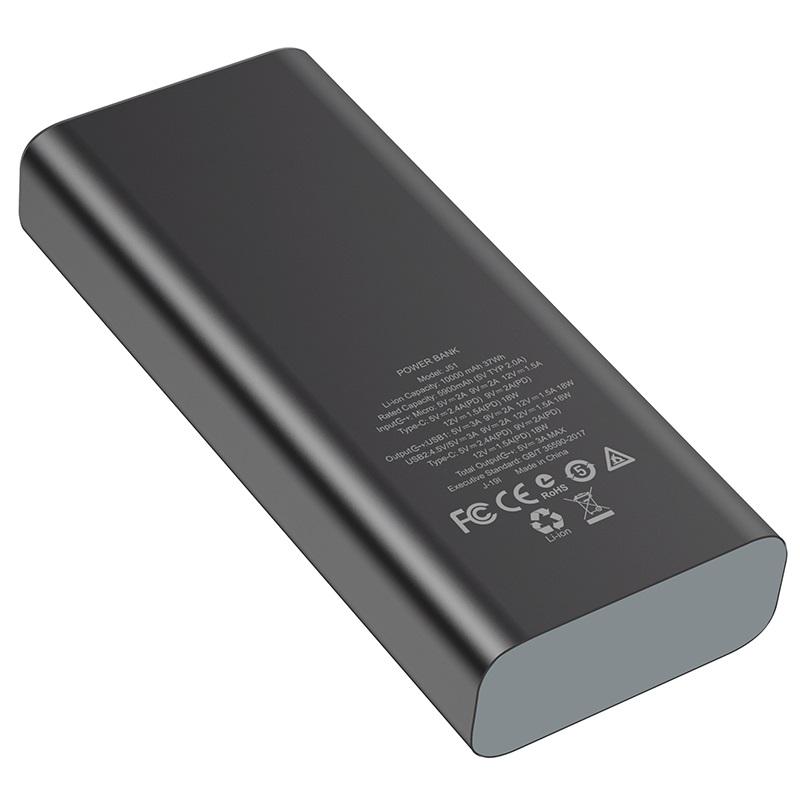 hoco j51 cool power портативный аккумулятор 10000mah спецификация